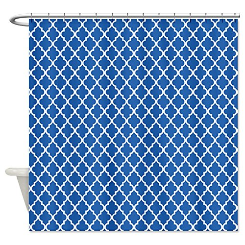 Click here to see a huge selection of cobalt blue shower curtains