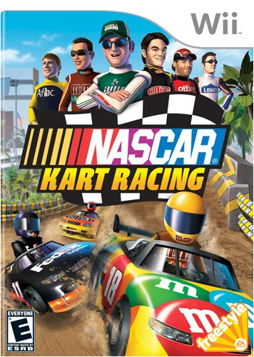 NASCAR Kart Racing - Nintendo Wii (Wii Nascar Steering Wheel compare prices)