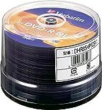 三菱化学メディア Verbatim 日本製 DVD-R DL(Data) 8.5GB 1回記録用 2-8倍速 スピンドルケース 50枚パック ワイド印刷対応 ホワイトレーベル DHR85HP50SV1