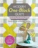 Modern One-block Quilts