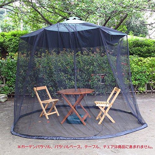 バグズシャット アウトドア用蚊帳 パラソル用