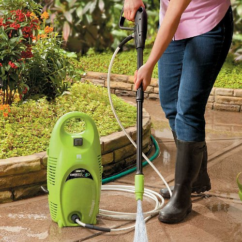 Image of 1550 PSI Pressure Washer - Improvements