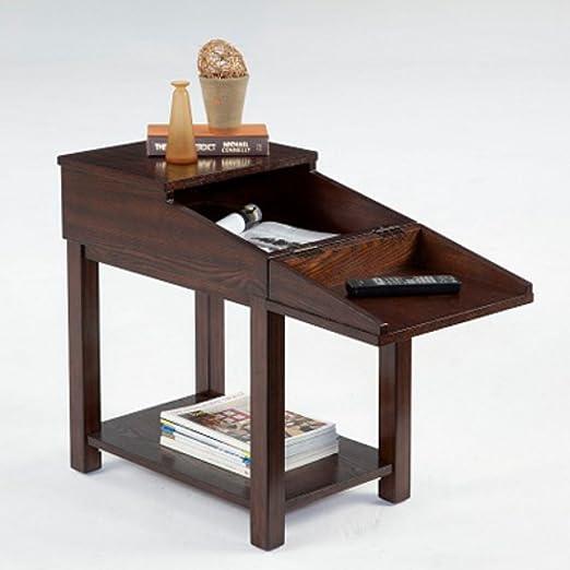 Progressive Furniture P300-65 Rectangular Wood Chairside End Table