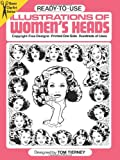 Ready-to-Use Illustrations of Women's Heads (Dover Clip Art Ready-to-Use) (0486243419) by Tierney, Tom