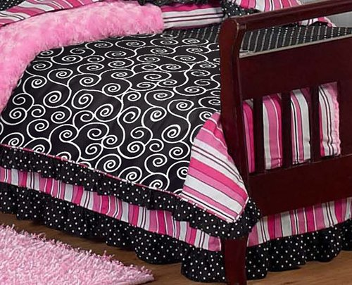 Madison Bed Skirt For Toddler Bedding Sets By Sweet Jojo Designs
