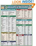Weights & Measures (Quickstudy Reference Guides - Academic)