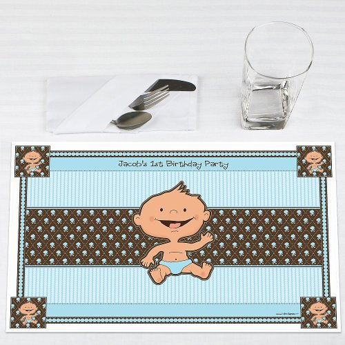 Modern Baby Boy Shower Decorations front-1054269