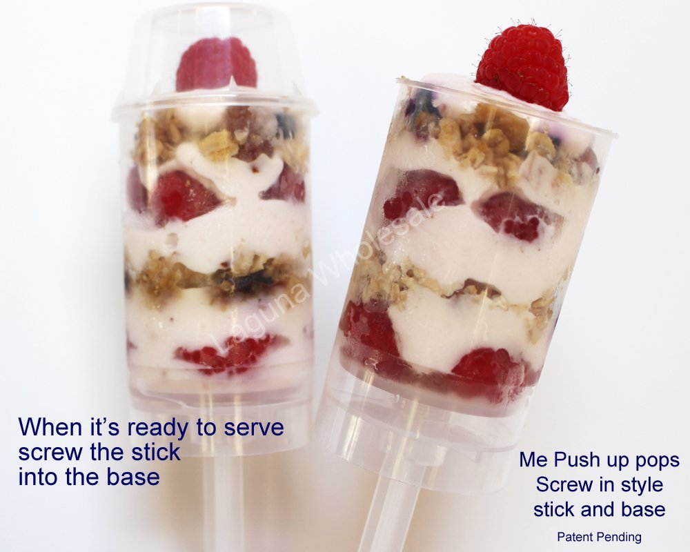 Supacute Desserts Push Up Pop Containers Amazon