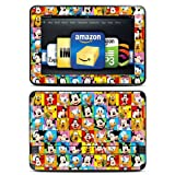 Disney Friends Design Protective Decal Skin Sticker (High Gloss Coating) for Amazon Kindle Fire HD 8.9 inch (released 2012) eBook Reader