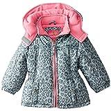 Pink Platinum Baby Girls' Cheetah Print Puffer
