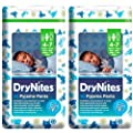 2x Huggies DryNites Pyjama Pants for Boys age 4-7 -Pack of 10- CHEAPEST PRICES