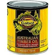 Cabot Australian Timber Oil Exterior Oil Finish-H TEAK TIMBER OIL FINISH
