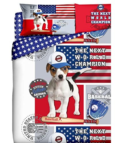 My Colors Completo Copripiumino Champion Dog [Multicolore]