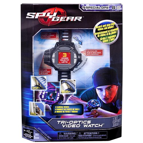 Spy Gear Tri Optics Video Watch (Spy Gear Tri Optics Video Watch compare prices)