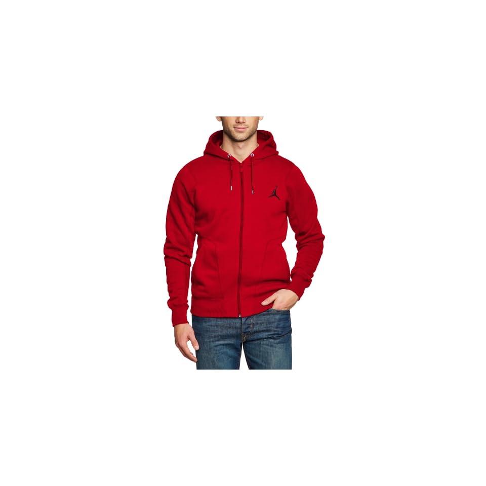 Jordan 23/7 Full Zip Mens Hoodie Red 547664 695