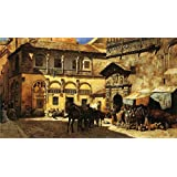 The Museum Outlet - Edwin Lord Weeks - Lord Market Square In Front Of The Sacristy And Doorway Of The Cathedral...