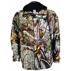 Buy Russell Outdoors Ladies Raintamer II Realtree AP Camo Windproof Rain Jacket by Russell Outdoors
