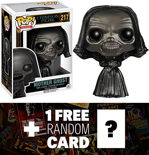 Mother Ghost: Funko POP! Horror Movies x Crimson Peak Vinyl Figure + 1 FREE Classic Horror & Sci-fi Movies Trading Card Bundle [61548]