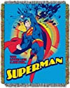DC Comic, Superman, Superman Smash 48-Inch-by-60-Inch Acrylic Tapestry Throw by The Northwest Company