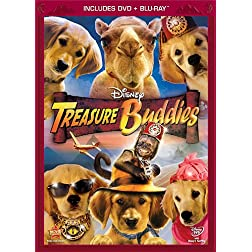 Treasure Buddies  (Two-Disc Blu-ray/DVD Combo in DVD Packaging)