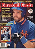 img - for Baseball Cards Magazine March 1990 Howard Johnson book / textbook / text book