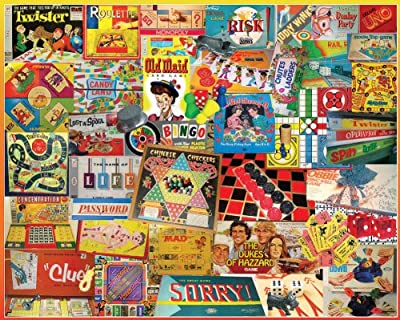 White Mountain Puzzles The Games We Played - 1000 Piece Jigsaw Puzzle by White Mountain Puzzles