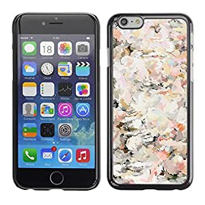 Omega Covers - Snap on Hard Back Case Cover Shell FOR Apple Iphone 6 Plus / 6S Plus ( 5.5 ) - Floral Vintage Vignette Wallpaper Flowers
