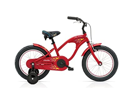"Electra -Beach Cruiser enfant Mini Rod 16"" Rouge"
