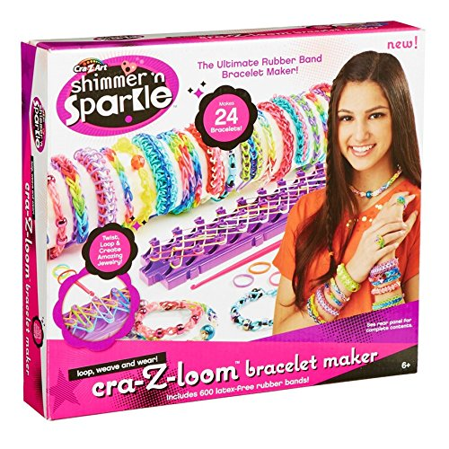 Cra-Z-Art 33190 - Loom Bracelet Maker,