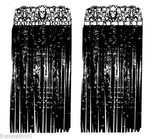 Halloween Door Curtain Decoration Haunted House
