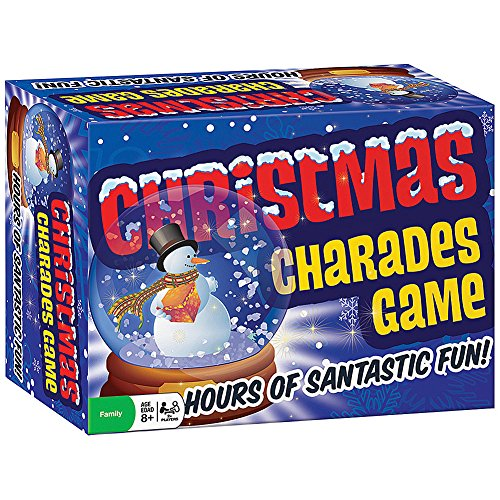 Classic Christmas Charades Family Party Game - Holiday Themed Acting Game