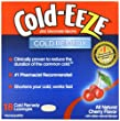 Cold-Eeze Cold Remedy Lozenges, Cherry, 18 Count