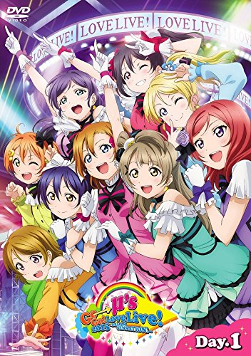 ラブライブ!μ's Go→Go! LoveLive! 2015~Dream Sensation!~ DVD Day1