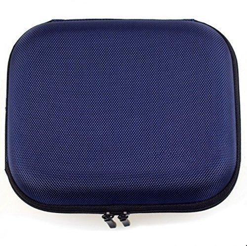 Gotor® Kopfhörer Tasche Earphone Box für SONY MDR-XB200 BXB400 XB450AP XB610 ZX600 V55 (Blau)