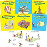 Curious George - 12 Titles: Curious George and the Dump Truck  Curious George and the Hot Air Balloon  Curious George Goes Camping  Curious George in the Snow  Curious George Tak