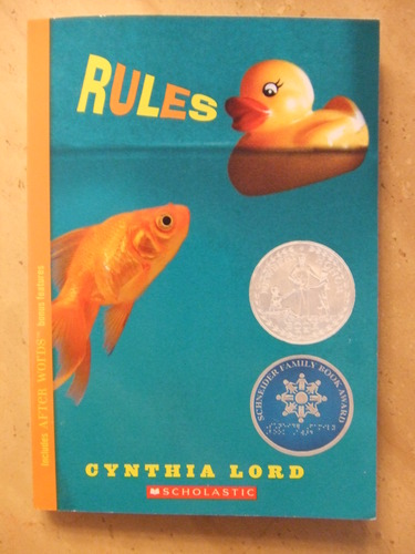 a character analysis of catherine in rules by cynthia lord Rules cynthia lord scholastic press ages 9 to 12 catherine is an appealing and believable character, acutely self-conscious and torn between her love for her brother and her resentment of his special needs.
