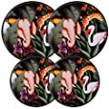 Reston Lloyd Electric Stove Burner Covers, Set of 4, Jungle