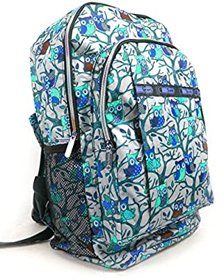 Colourful LARGE Cartoon Multi Zip Pockets Rucksack Backpack (183) A4 FOLDERS School , leisure etc , Multi use , Multi purpose
