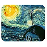 Mystic Zone The Nightmare before Christmas Jack Skellington Rectangle Mouse Pad (Black) - MZM00089