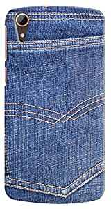 Kasemantra Chic Jeans Case For Htc Desire 828