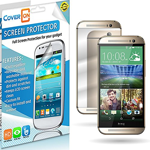 Coveron® Mirror Lcd Screen Protector Shield For Htc One (M8) / M8 For Windows