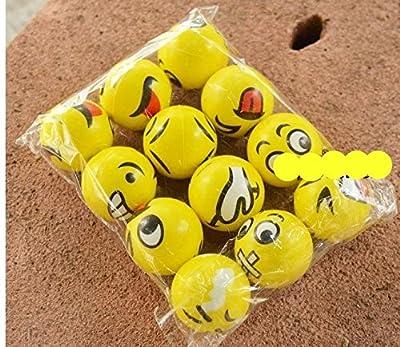 Play Balls 12 Pcs 6.3 MM Cute Emotion