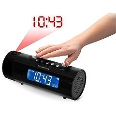 Magnasonic MAG-MM178K AM/FM Projection Clock Radio