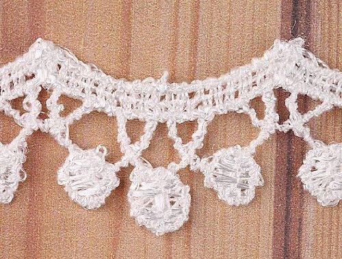 5 Yard Drop Wave Lace Trim Sewing On 5/8'' Inch I0133-1
