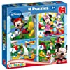 Disney Mickey Mouse Clubhouse 4-in-1 Jigsaw Puzzles (4 / 6 / 9 / 16 Pieces)