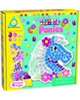 Orb Factory - ORB64051 - Loisirs Créatifs - Ma Première Mosaique Autocollante aux Formes - Poneys