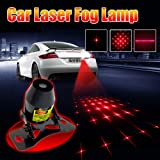 Laser Lights for Cars - Universal Auto Rear-end Alarm Fog Lamp for Cars and Motorcycles Brake Parking Anti-Collision Safety Warning Lights (Color: Star Pattern)