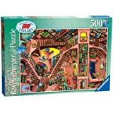 Ravensburger - The Ludicrous Library Jigsaw Puzzle - 500 Pieces