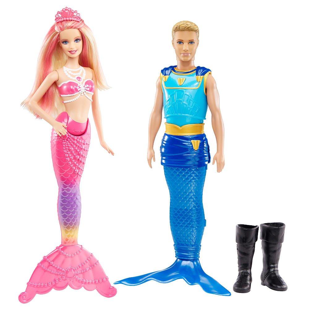Barbie Pearl Princess with Prince Ken Triton