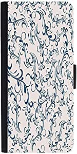 Snoogg Seamless Floral Pattern Abstract Backgrounddesigner Protective Flip Ca...
